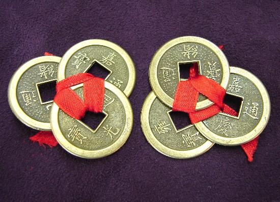 Monedas feng-shui