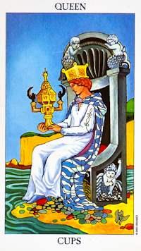 Tarot reina-de-copas-tarot Los arcanos menores y su significado (I) Tarot
