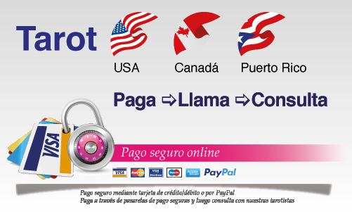 Tarot banner-paga-llama-consulta Tarotistas y videntes en Estados Unidos (USA) por teléfono Tarot telefónico Toll Free