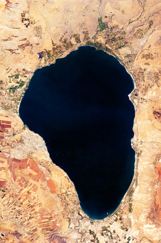 Tarot Vista-aerea-mar-de-Galilea El enigmático monumento del mar de Galilea Destacados